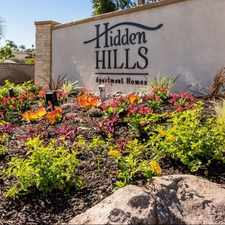 Rental info for Hidden Hills in the Vista area