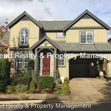 Rental info for 12807 NW Bayonne Ln in the Portland area