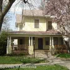 Rental info for 1700 B St in the Lincoln area