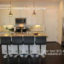 Rental info for 3206 W HORATIO ST in the Grey Gables area