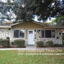 Rental info for 1355 45th Avenue