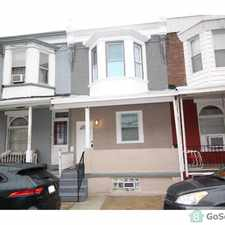 Rental info for LOVELY REMODELED 4 BEDROOM HOUSE AVAILABLE FOR RENT! GREAT LOCATION! in the Philadelphia area
