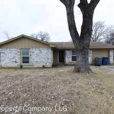 Rental info for 637 Edgeglen Dr. in the Dallas area