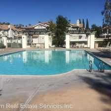 Rental info for 19 Catania, in the Mission Viejo area