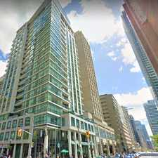 Rental info for Bay St & Charles St W in the Bay Street Corridor area