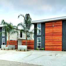 Rental info for 4440 Boundary - 12 in the San Diego area