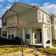 Rental info for 4588w 11800s in the Riverton area