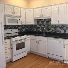 Rental info for W Altgeld St & N St Louis Ave in the Logan Square area