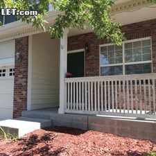 Rental info for $2300 4 bedroom House in Aurora Tollgate Village in the Aurora area