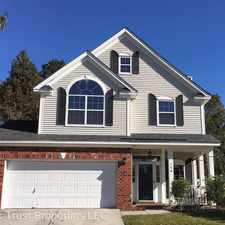 Rental info for 128 East Hartwick Lane in the Goose Creek area