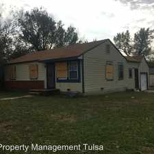 Rental info for 6 E 46th St N in the Tulsa area