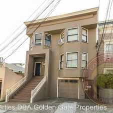 Rental info for 309 Duncan Street in the Noe Valley area