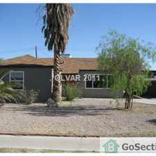 Rental info for Las Vegas suburb 9.8 miles away from The Strips 4bedroom 2bath 1story home carport and patio in the Valley View area