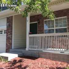 Rental info for Four Bedroom In Aurora in the Aurora area