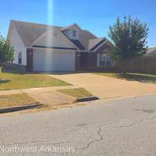 Rental info for 1589 E Fairlane Street in the Fayetteville area