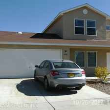 Rental info for 5786 Pinon Grande NW in the Skies West area