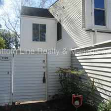 Rental info for Great Secluded End Unit Condo! in the Becton Park area