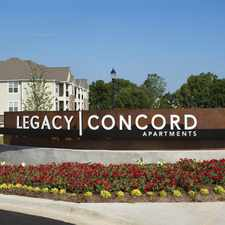 Rental info for Legacy Concord Apartments in the Concord area