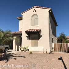 Rental info for 16176 W. DESERT MIRAGE DR.