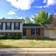 Rental info for Beautiful, clean, comfortable tri-level home for rent on quiet street in Louisville.