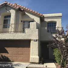 Rental info for 3021 Yankee Clipper Dr in the West Sahara area