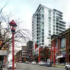 Rental info for 188 Keefer Street #PH6 in the Strathcona area