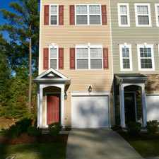 Rental info for End Unit Town Home W/upgrades in the Woodlake area