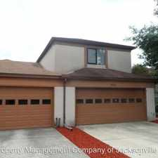 Rental info for 9826 Fawn Brook Drive in the Jacksonville area
