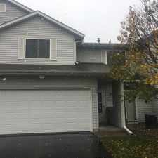 Rental info for 538 Roundhouse Street in the Shakopee area