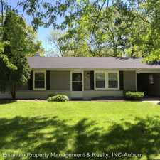 Rental info for 3936 Beaverbrook Dr in the Fort Wayne area