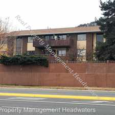 Rental info for 1721 Euclid #103 - Unit 103 in the Helena area