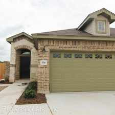 Rental info for 574 Creekside Forest in the New Braunfels area