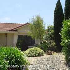 Rental info for 241 Bentley Court in the American Canyon area