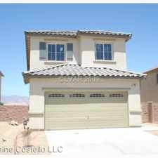 Rental info for 120 Rosa Rosales in the North Las Vegas area
