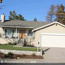 Rental info for 1284 Saddle Hill Lane in the Martinez area