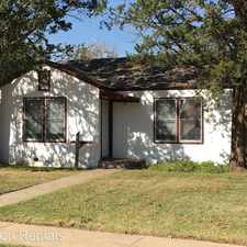 Rental info for 2416 24th St in the Heart of Lubbock area