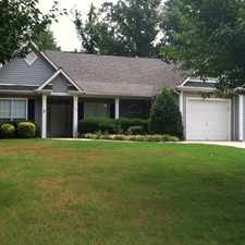Rental info for 130 Pine Crescent in the Newnan area