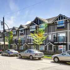 Rental info for 7168 Stride Avenue #202 in the Burnaby area