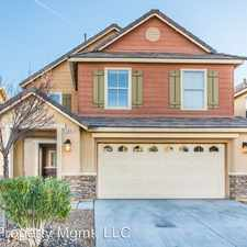 Rental info for 109 Snow Dome Ave in the North Las Vegas area