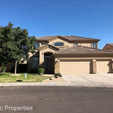 Rental info for 986 W. Citrus Way in the The Island at Ocotillo area