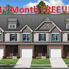 Rental info for 1st Month FREE!!! New construction Townhomes in the private setting of Pleasant Villas 3 bed 2 bath in the Charlotte area