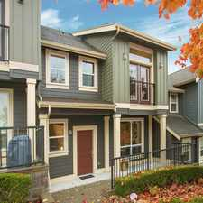 Rental info for Furnished Townhome for Rent in Issaquah Highlands | Great Location Overlooking Park