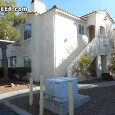 Rental info for Two Bedroom In Henderson in the Foothills area