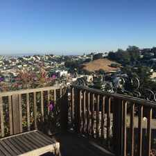 Rental info for $6800 3 bedroom House in Noe Valley in the Clarendon Heights area