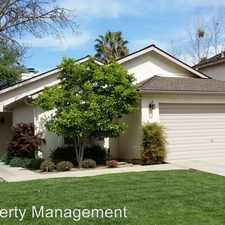 Rental info for 3426 W. Dovewood Ave in the Fresno area