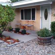 Rental info for Three Bedroom In Albuquerque in the Albuquerque area
