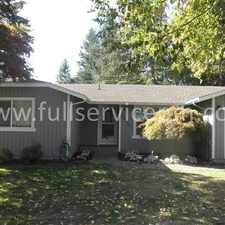 Rental info for 15337 SE 178th St. in the Fairwood area