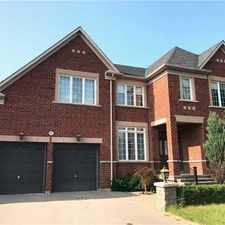 Rental info for 12 Sawgrass Avenue in the Vaughan area