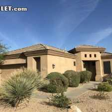 Rental info for $1800 3 bedroom House in Fountain Hills Area in the Scottsdale area
