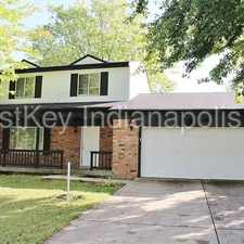 Rental info for 11319 East Wolf Lane in the Indianapolis area